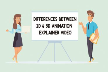 Differences between 2d & 3d animation explainer video