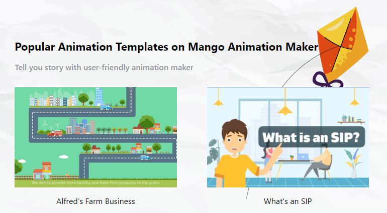 Best Animated Explainer Video Maker Mango Animation Maker