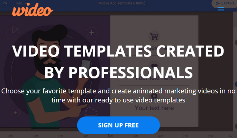 Best Animated Explainer Video Maker Wideo