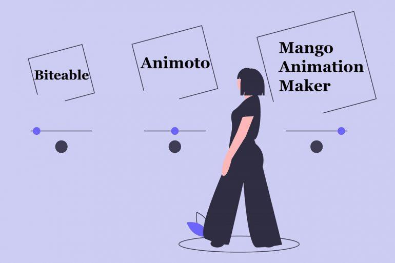 Biteable Alternative Insider Reviews Biteable vs Animoto vs Mango Animation Maker