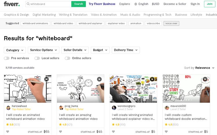 whiteboard animation creator