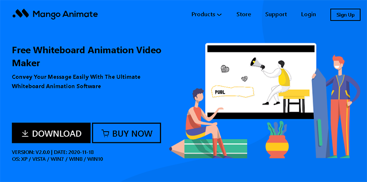 whiteborad illustration video creator