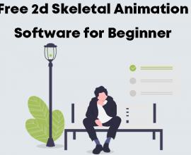 Free 2d Skeletal Animation Software for Beginner