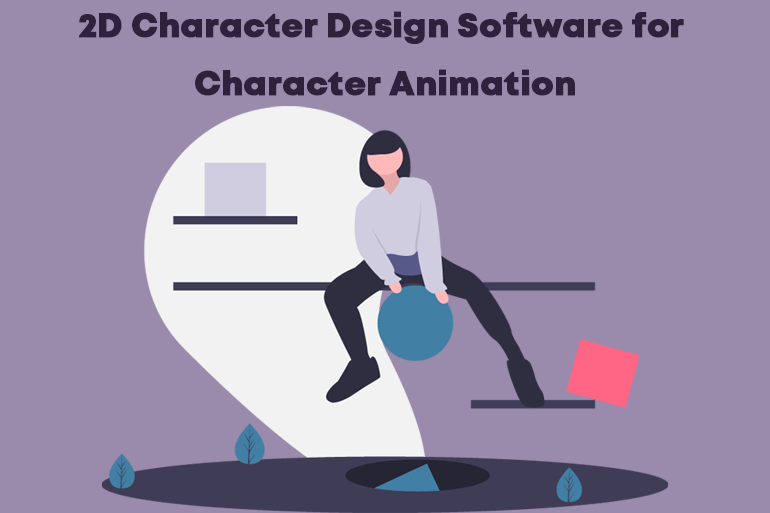 2D character design software for character animation