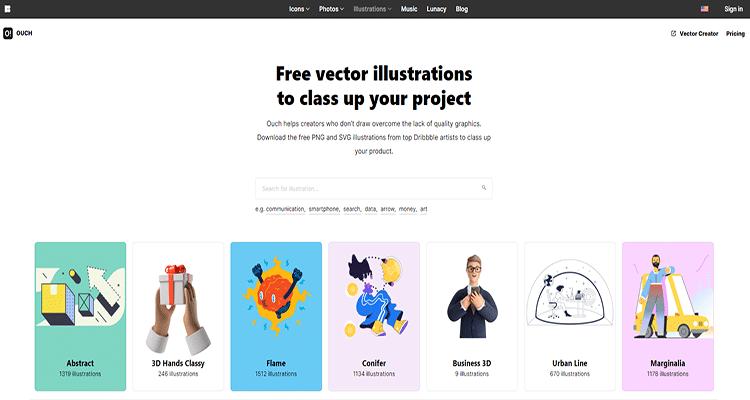 08 graphic characters download websites