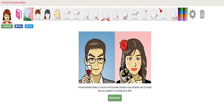 10 graphic characters download websites