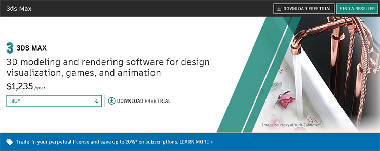 best 3D animation software-3ds max
