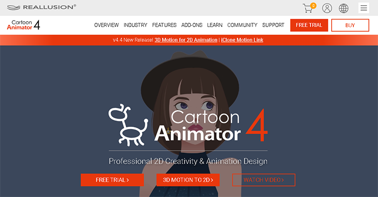 best character animation maker-reallusion cartoon animator 4