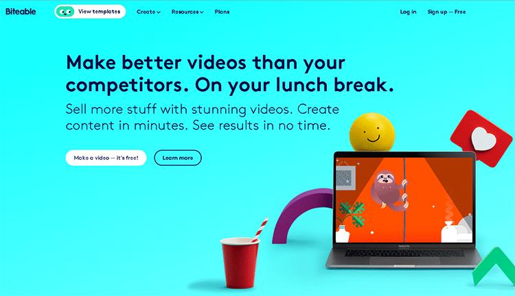 cartoon creator software-biteable