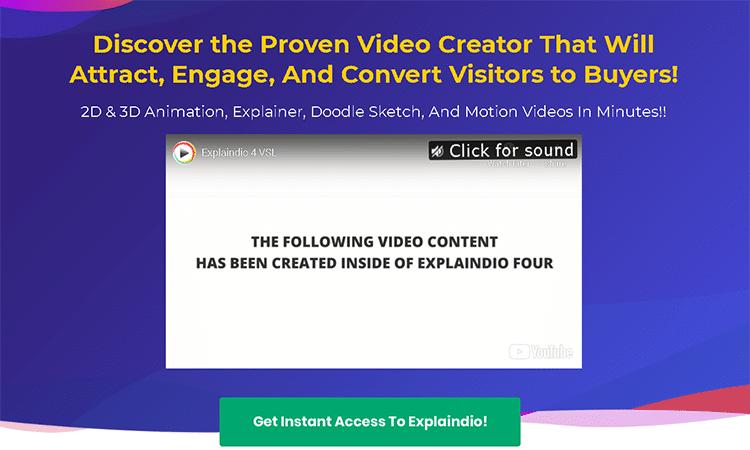 cartoon creator software-explaindio