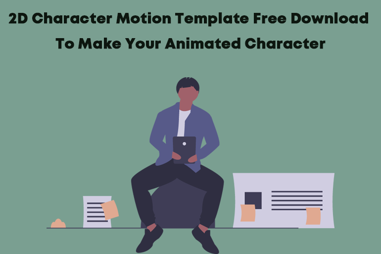 2D character free download