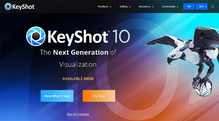 animation software for pc-keyshot