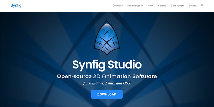 animation software for pc-synfig studio