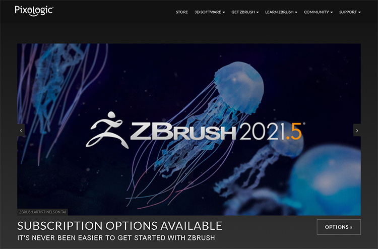character design software-zbrush