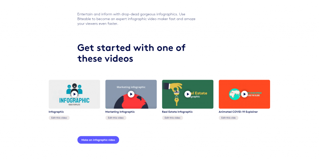 Animated Video Maker-Biteable