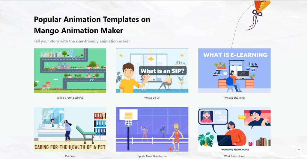 Infographic moive maker-Mango Animate Animation Maker
