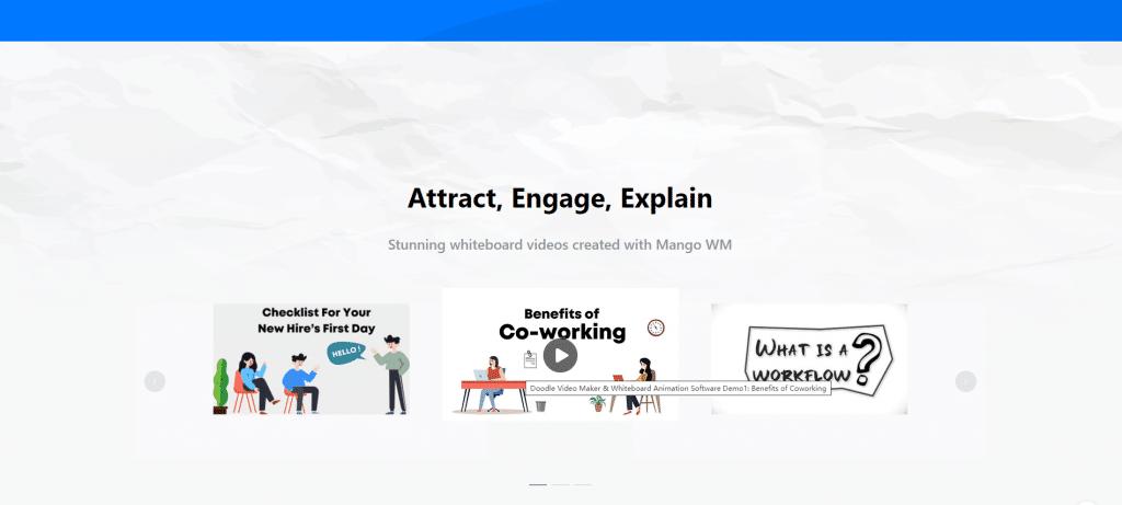 Infographic moive maker-Mango Animate Whiteboard Animation Maker