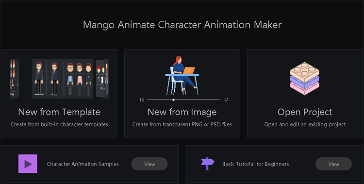 create my own cartoon character start from choosing a character