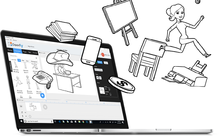Doodly is considered as one of the top 10 whiteboard video makers in this review.