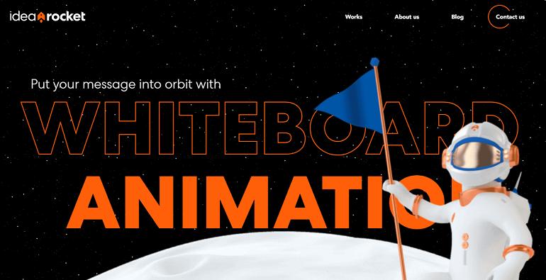 Idearocket produces appealing whiteboard videos