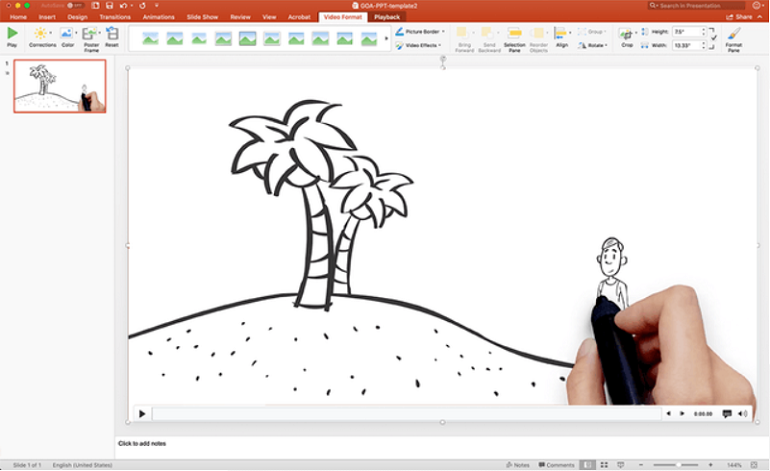 Vyond can make whiteboard animations.
