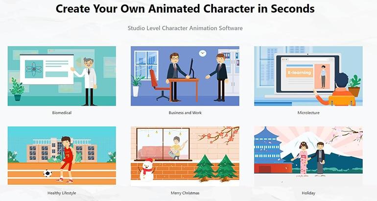 mango animated caricature