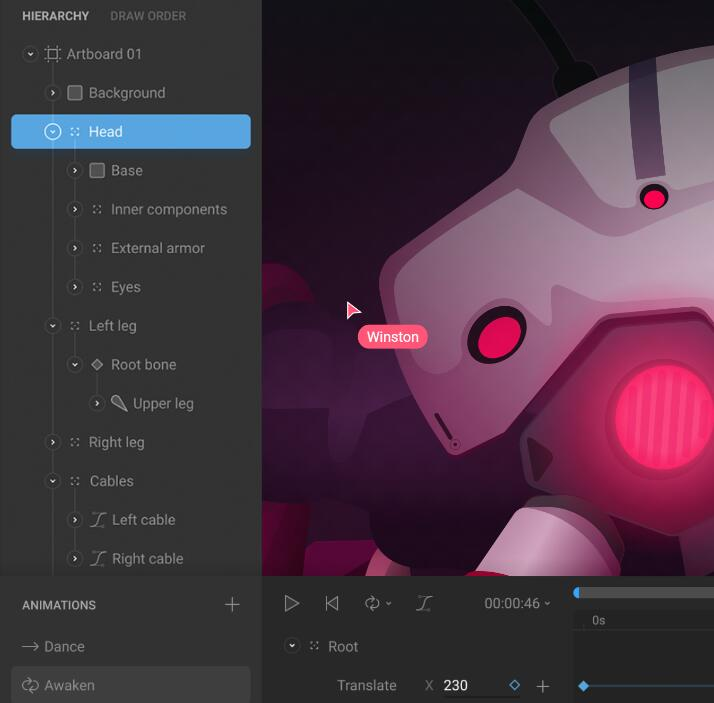 character rigging animation software TOP 15 Rive