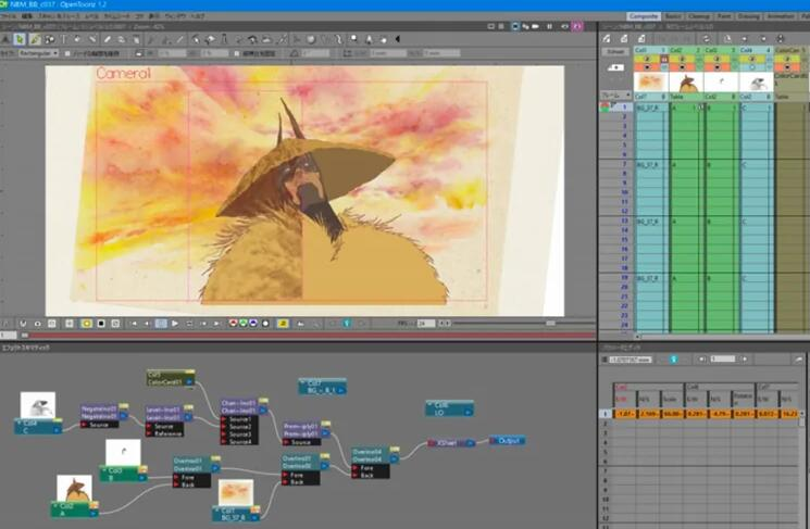 character rigging animation software TOP 16 OpenToonz