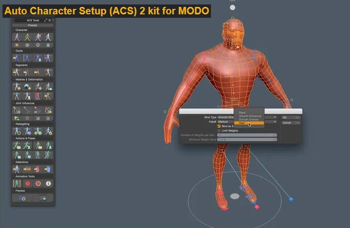 character rigging animation software TOP 19 Auto Character Setup