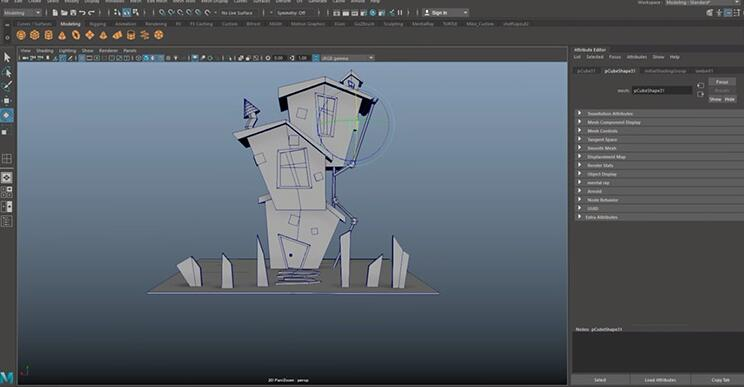 character rigging animation software TOP11 Maya