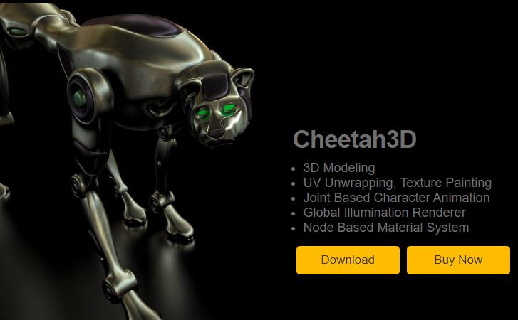 character rigging animation software TOP13 Cheetah3D