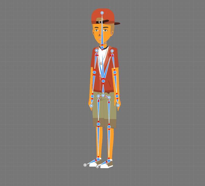 cartoon character maker step2