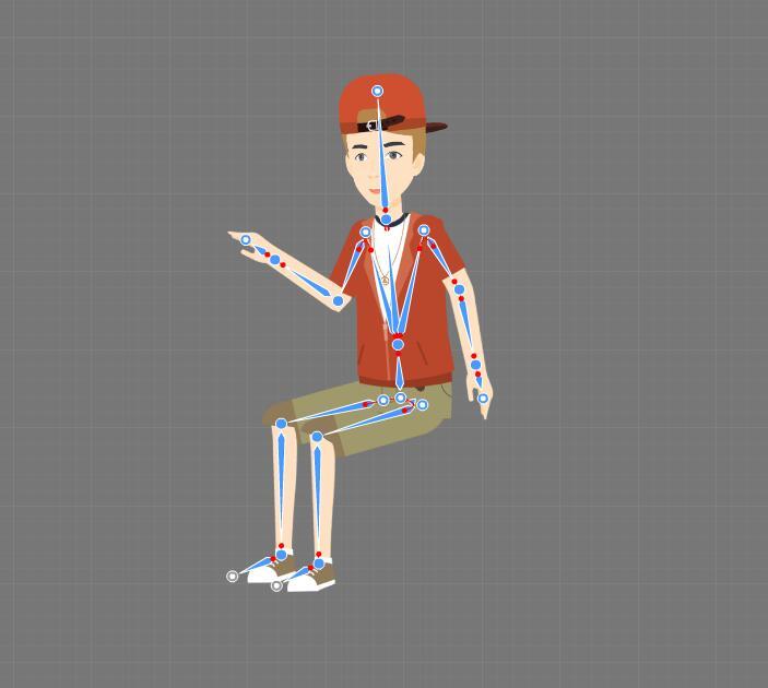 cartoon character maker step3