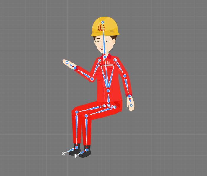 create a cartoon character step4