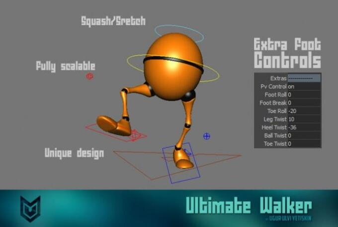 top8 Ultimate Rigs rigged character for Blender