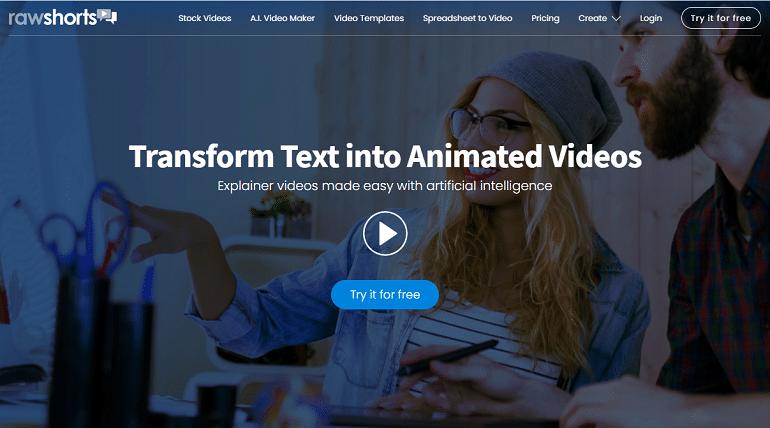 Best Doodle Video Maker - RawShorts