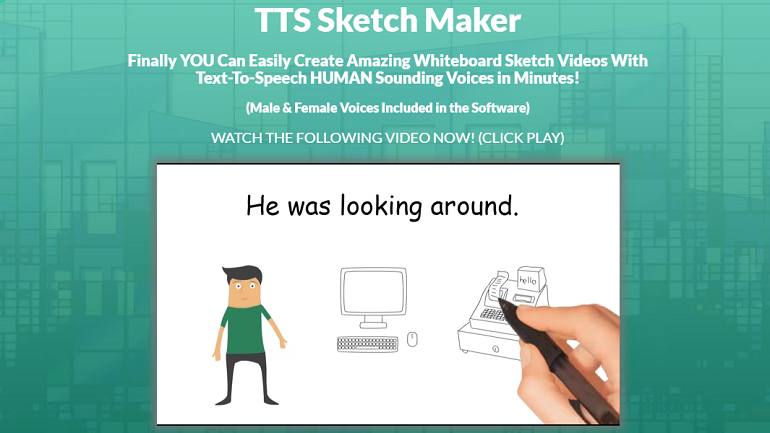 Best Whiteboard Video Maker - TTS Sketch Maker