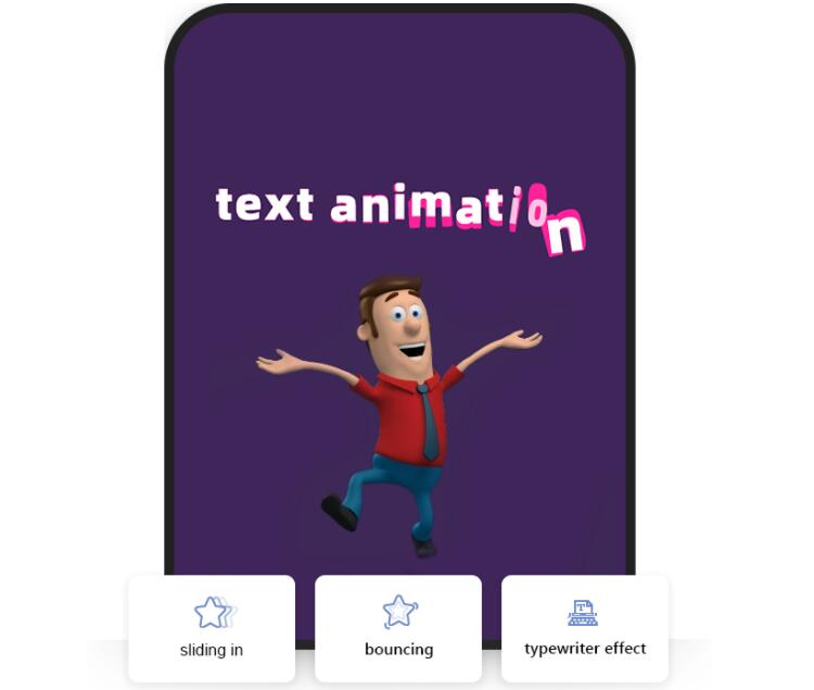 Best text video maker Mango Animate Text Video Maker special effect