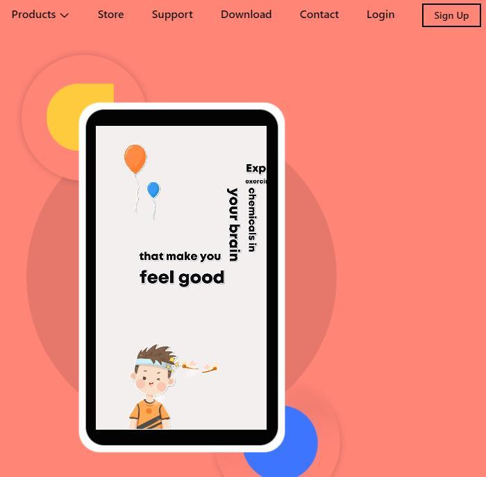 Best text video maker Mango Animate Text Video Maker