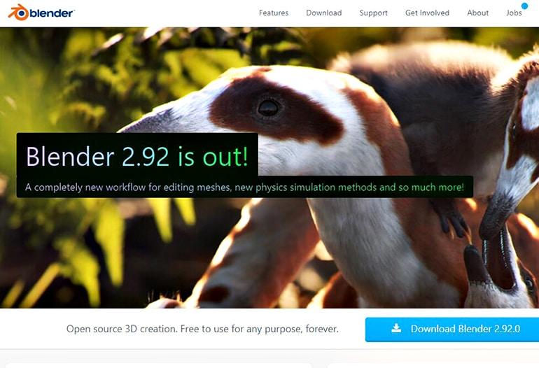 Blender: a open-source 3D creation