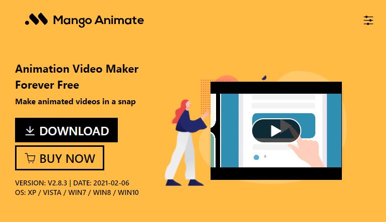 Free Hand Drawn Animation Software - Mango Animate Animation Maker