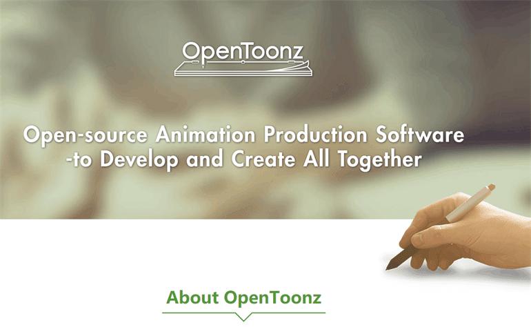OpenToonz:a open-source animation software online program