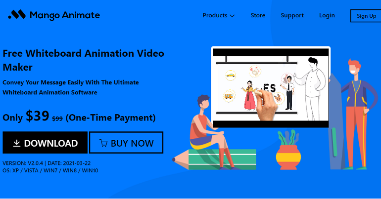 Top Free Doodle Video Maker - Mango Animate Whiteboard Animation Maker