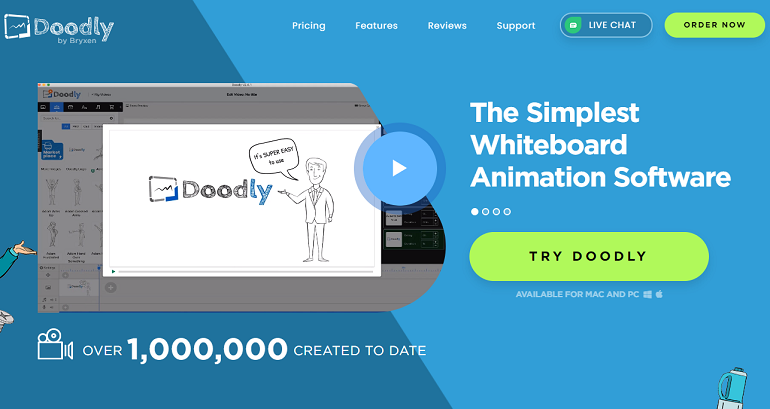 Top Whiteboard Animation Software - Doodly