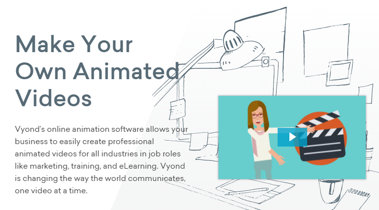 Top Whiteboard Animation Tool - Vyond