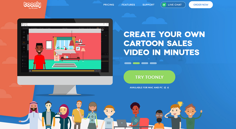 Whiteboard Animation Tool - Toonly