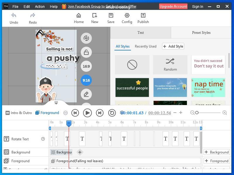 Mango Animate Text Video Maker full screenshot
