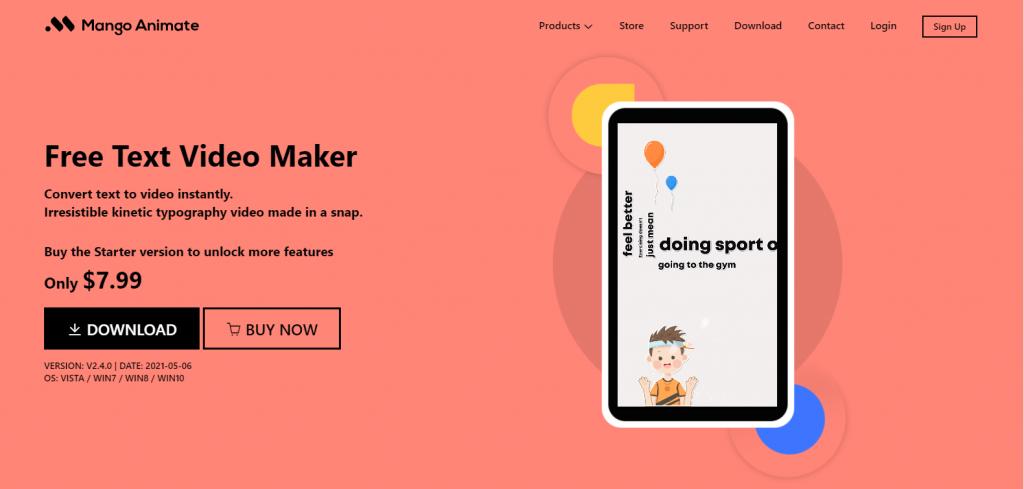 Mango Animate Text Video Maker