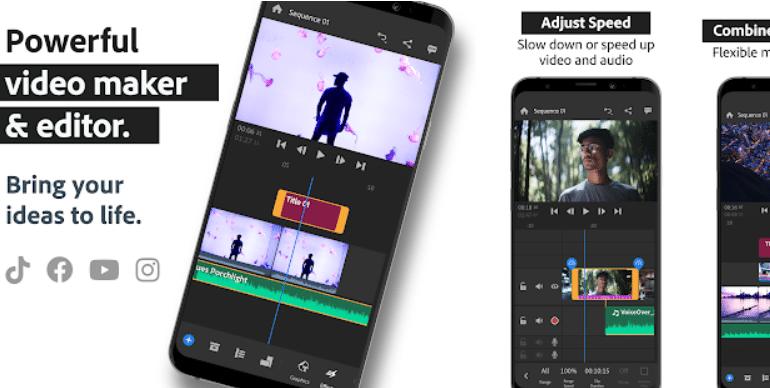 Top Text Video Maker App - Adobe Premiere Rush