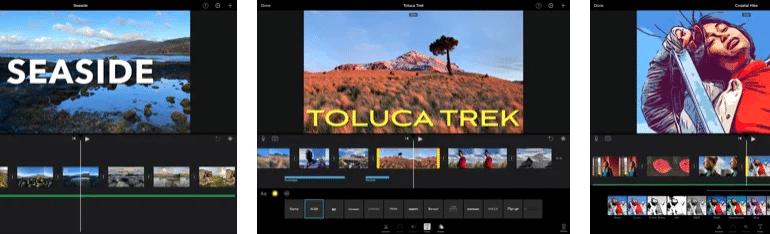 Top Text to Video App - iMovie